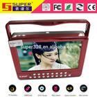 For hitachi lens + for sunplus solution+LED BOE best Portable evd dvd player price