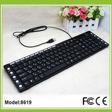 125 chiavi cablato laser arabo tastiera wired multimediali tastiera araba