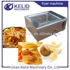 automatic potato chips fryer machine