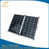 portable home solar panels for sale 100w folding solar panel price