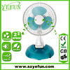 FT-0602 2014 hot sell CE GS PP plastic 2 in 1 table electric clip fan