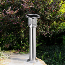 Promotional Waterproof Stainless Steel Solar Lamp Outdoor with 36pcs LED