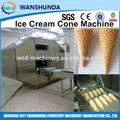 Aquecimento a gás automático do Cone de gelado que faz a máquina