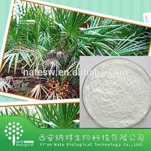 High quality herb extract powder factory low price Saw palmetto powder extract Fatty acid powder