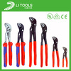 Groove Joint Water Pump Pliers with double color handle /groove joint pliers/ Automotive Toolswater pump plier