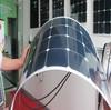 180W sunpower high efficiency semi flexible bendable solar panel