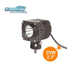 High power 25w mini moto atv led light motorcycle spot 2inch work lamp
