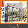 Aluminium 2.0 lowes. intérieure en verre coulissantes pliantes portes patio