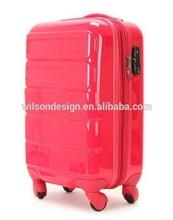 fancy electric pattern luggage