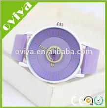 2014 trends unique disc second hand, fashion quartz watch