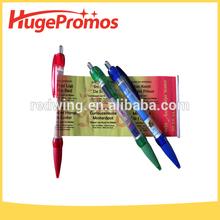 200*70mm Advertising Pen Custom Flyer Promotional Banner Pen