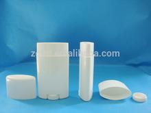 70ml stick deodorant container, plastic gel deodorant stick container, bottom filling deodorant container