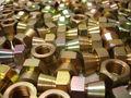 Bom acabamento de precisão de bronze acessórios para sacos