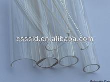 transparent PC/PMMA/acrylic tubing