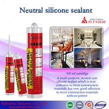 neutral curing silicone sealant manufacturer/silicone sealant splendor supplier