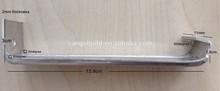 Aluminum alloy Gutter Single-side Bracket,Suspension Clamp Structure rain water gutter bracket for for house rain water Usage