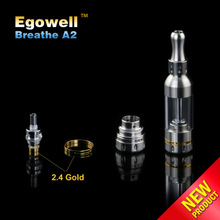 bulk available Stainless Steel Electronic Cigarette - vogue design - rebuilding atomizer coil Breathe A2 atomizer