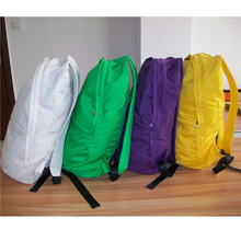 top hot selling canvas backpack climbing backpack zinc