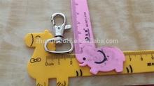 high quality fashion metal dog clips for lanyard