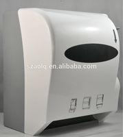 semi-automatic paper towel dispenser paper ticket holder