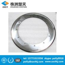 zhuzhou tungsten carbide round disc cutter with holes