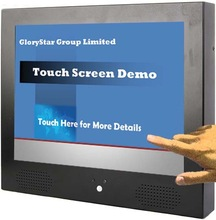 tft cctv lcd monitors with bnc input and touch screen 15 Inch LCD