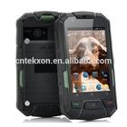 960x640, Waterproof, Shockproof, Dustproof (Green) Ruggedized 3.5 Inch Android Dual Core Phone