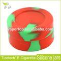Fda aprovado acrílico transparente vasilhas, 5ml frascos de silicone por atacado