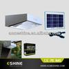 5W solar panle 3.5W led flood light with PIR sensor motion sensor led solar light