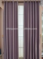 2014new luxury finished window curtain