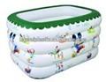 Piscina inflável para as crianças água fun pool