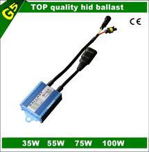 2014 latest slim 35/55/75 /100 watt hid ballast