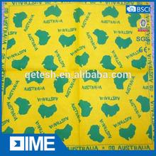 Multi Usage Biker Absorblent Jamaica Yellow Hair Dye Bandana
