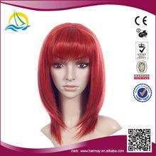 Quality guaranteed Heat Resistant Fibre korean ladies short hair wig