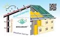 techos de paja a prueba de agua de la membrana