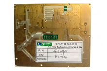 Rogers Ro4350 Gold Ceramic PCB Substrate , Double Sided PCB Immersion