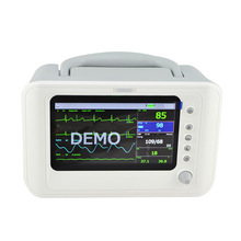 Easy Take Patient Monitor-Risingmed 2014 New Model Best Quality Cheap Price Color 7-inch 6-Parameter Medical/Hospital/Ambulance