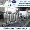 3-4 tonnes par heure de traitement de l'eau avec le prix usine