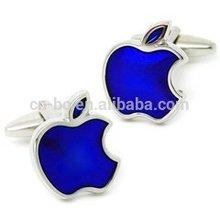 Apple design/Hot sale/Customized Cuff links,Cuff buttons