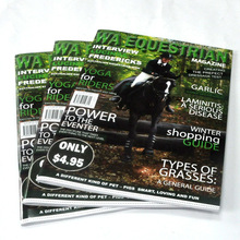 high quality monthly/bimonth/quarterly/biannual/annual light weight Magazine Printing