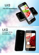 Original Android smart Mobile Phone MTK6572 CPU 4 inch IPS 4GB ROM 5MP Camera Multi language