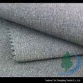 Seda macia spining spandex do poliéster 4-way tecidoelástico para shorts