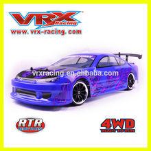 VRX Racing Brushed drift car,on-road drift cars,1/10 X-RANGER EBD electric touring car