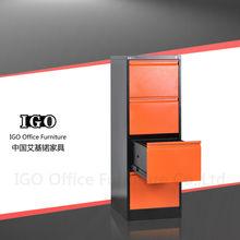 IGO-3-4D Durable 4 Drawers File Cabinet/Metal File Cabinet Drawer Dividers