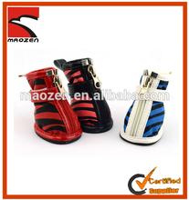 Winter Pet Dog Waterproof Shoes With Zipper 4pcs/set
