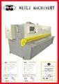 De calidad superior guillotina diseño avanzado barras de cobre de la máquina