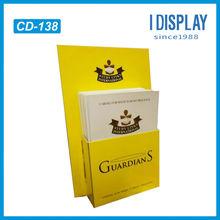 cardboard greeting card display stand, counter cardboard display boxes, counter display stand