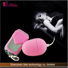 2014remote control vibrating egg sex toy catalogs
