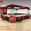 Nuovo design mall gioielli salone del mobile, gioielli vetrina display, gioielli vetrina