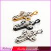 Alibaba uae three cross pendant custom stainless steel jewelry FC274